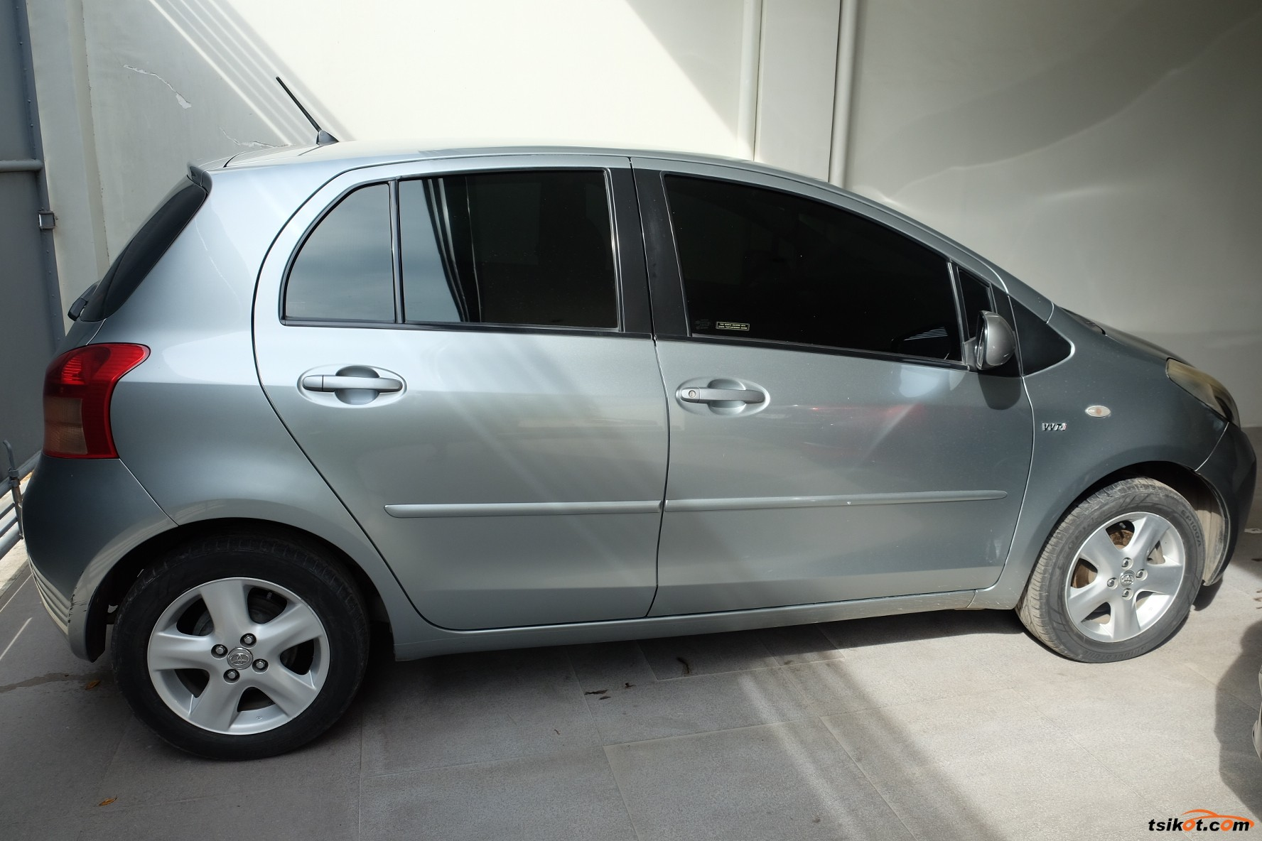 toyota yaris 2007 car for sale central visayas. Black Bedroom Furniture Sets. Home Design Ideas