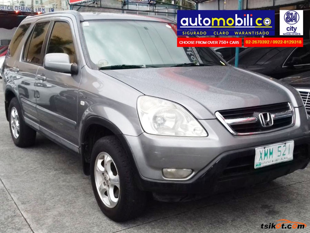 Honda Cr V 2004 Car For Sale Metro Manila Philippines