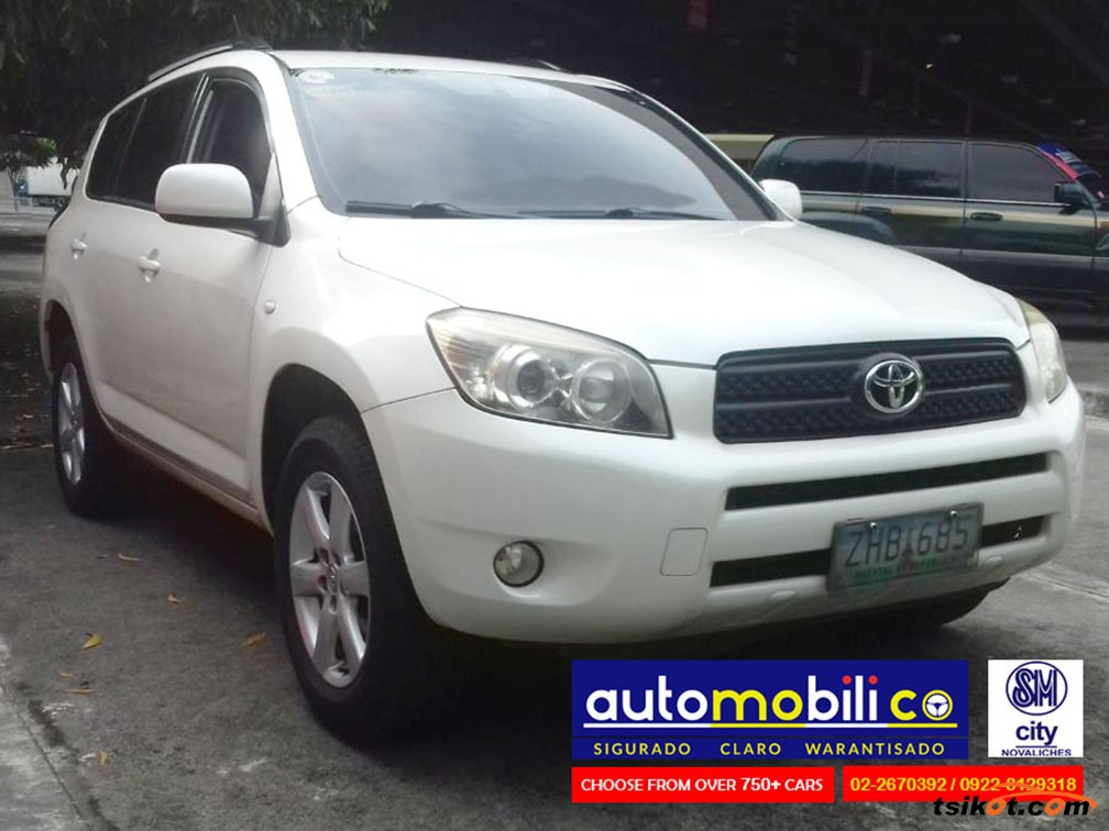 toyota rav4 2007 car for sale metro manila philippines. Black Bedroom Furniture Sets. Home Design Ideas