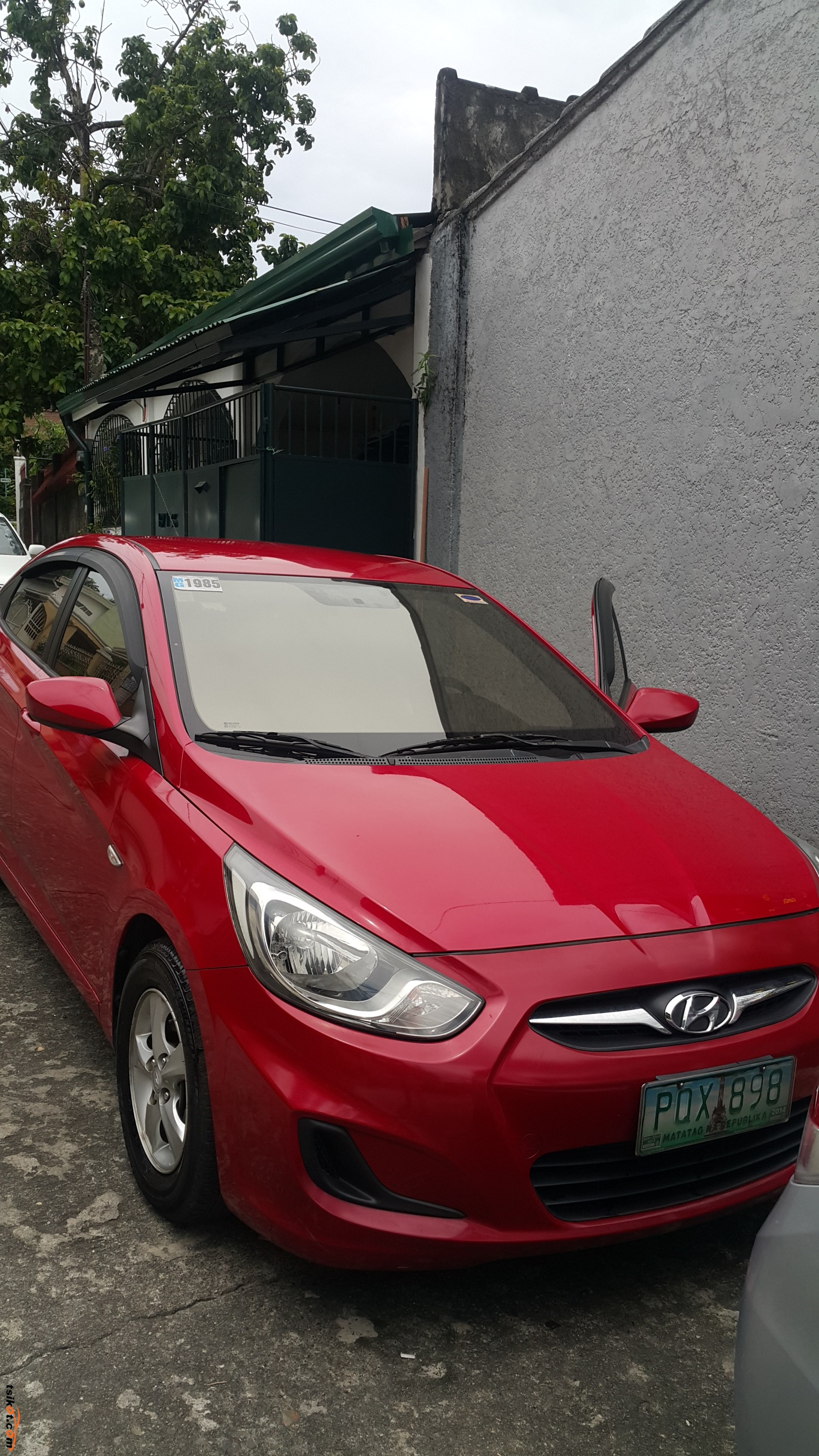 hyundai accent 2011 car for sale metro manila philippines. Black Bedroom Furniture Sets. Home Design Ideas