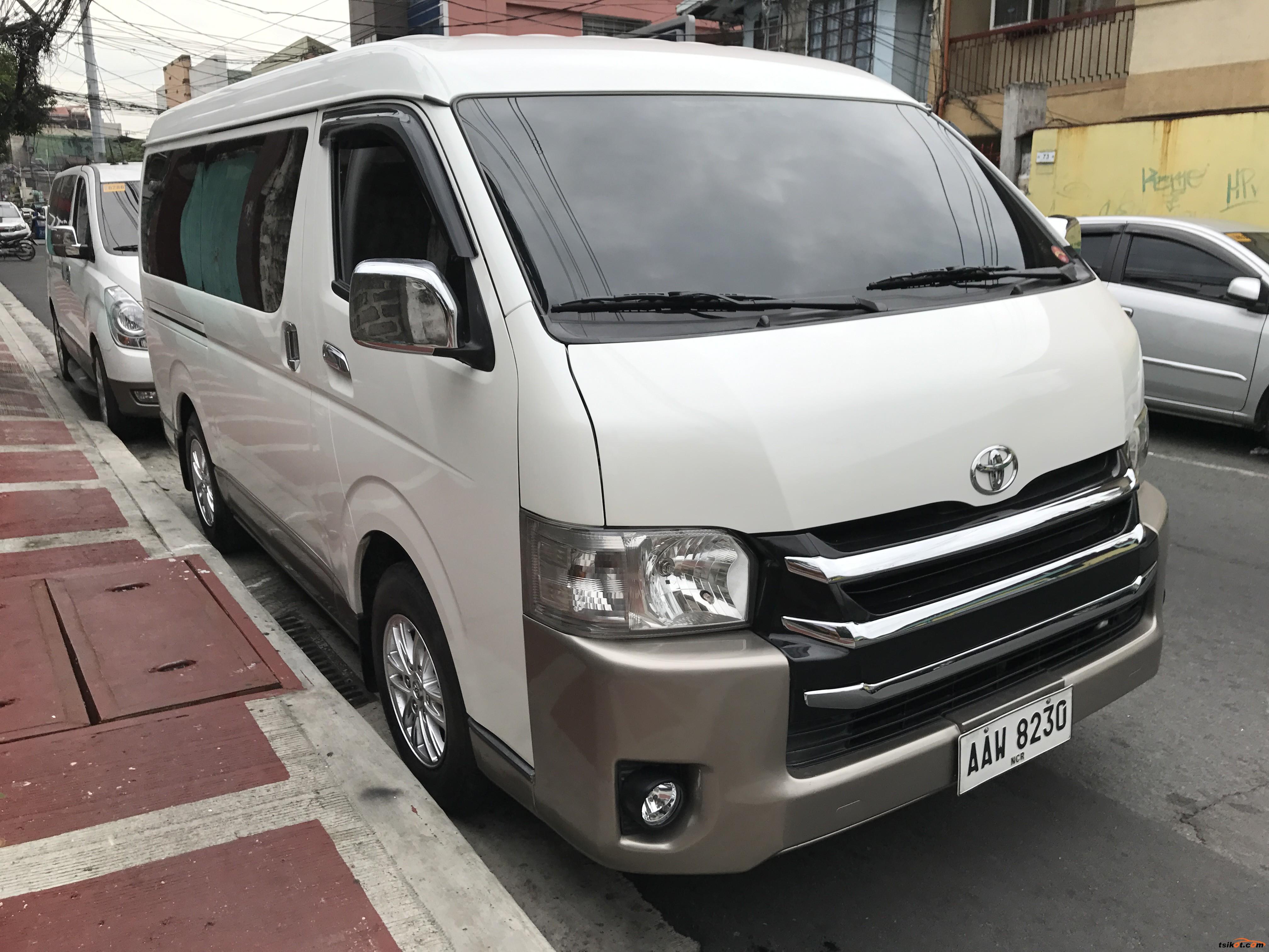 Toyota Hiace 2016 - 1