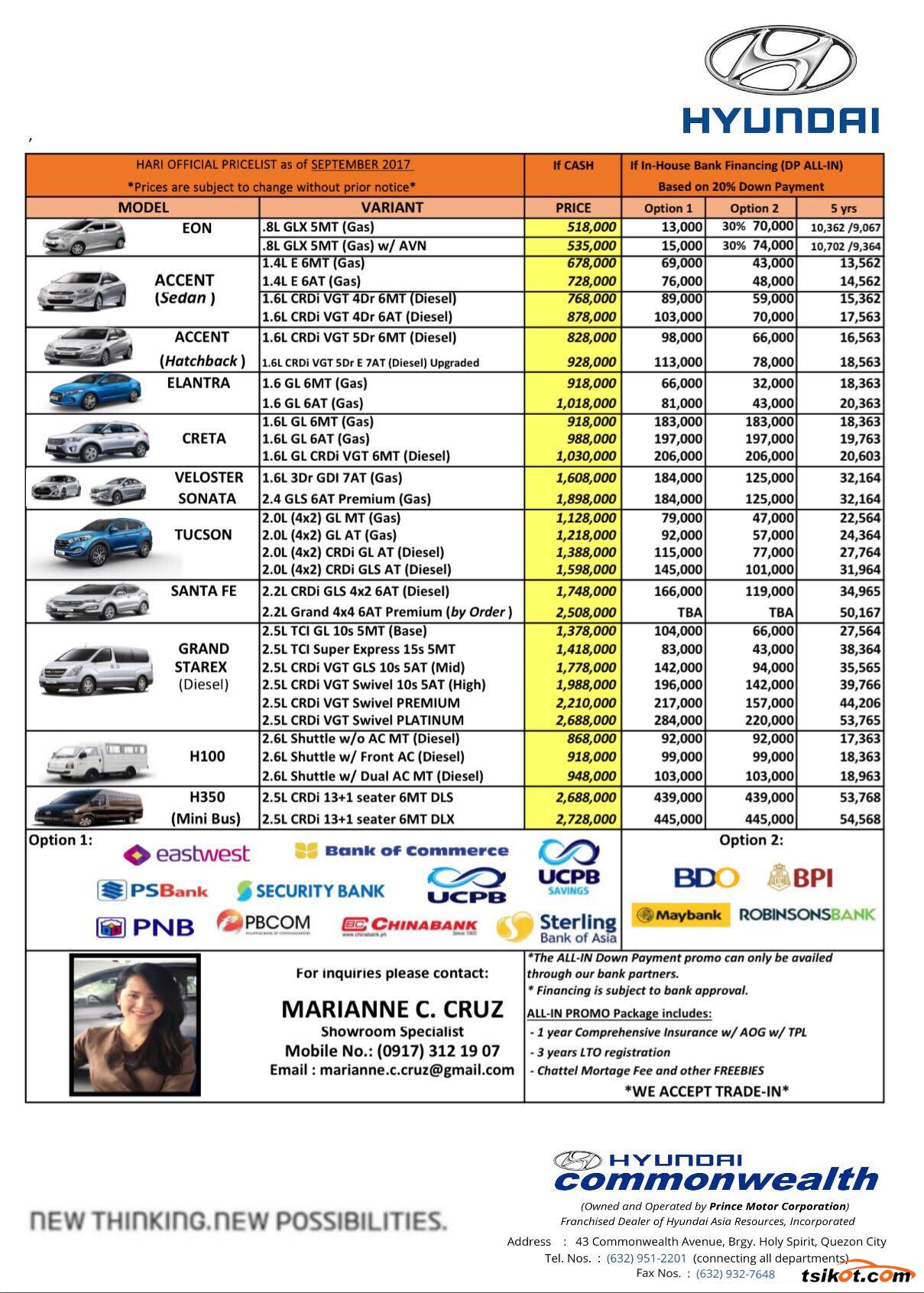 Hyundai Elantra 2017 - 2