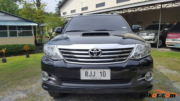 Toyota Fortuner 2015 Car For Sale Metro Manila