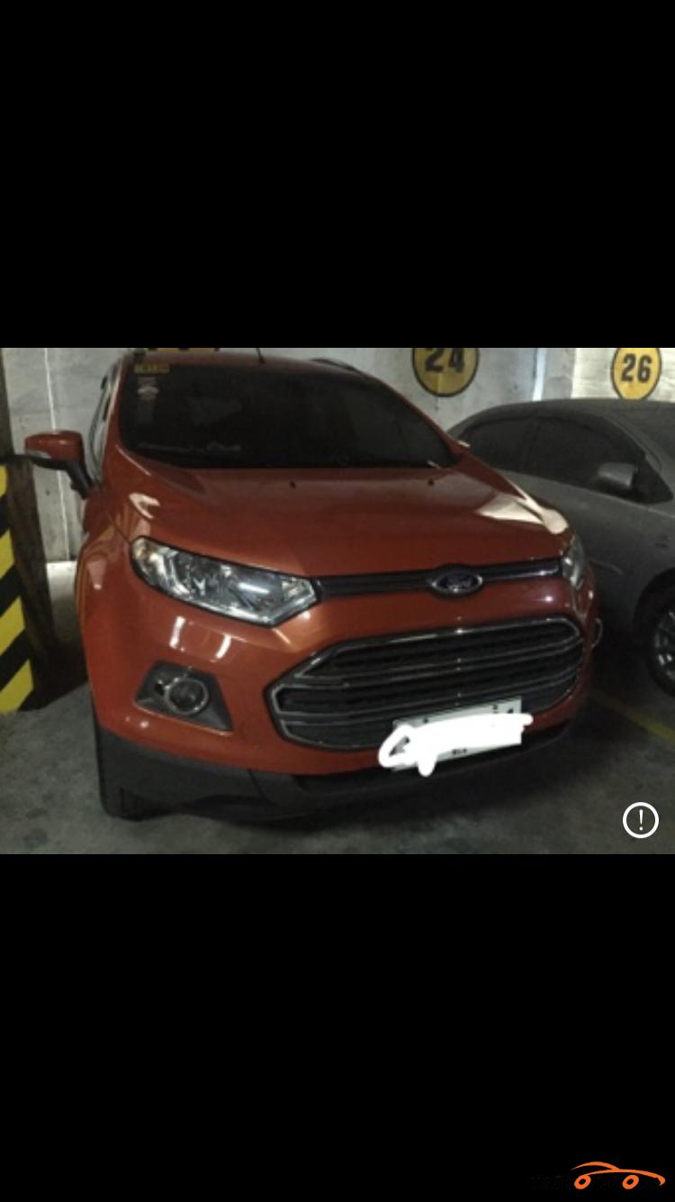 Ford Ecosport 2015 - 2
