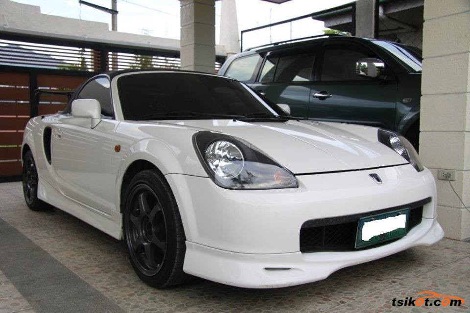Toyota Mr-S 2001 - 3