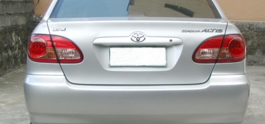 Toyota Corolla 2004 - 17