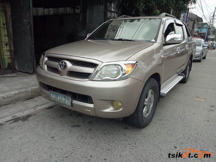 Toyota Hilux 2007 Car for Sale Metro Manila Philippines