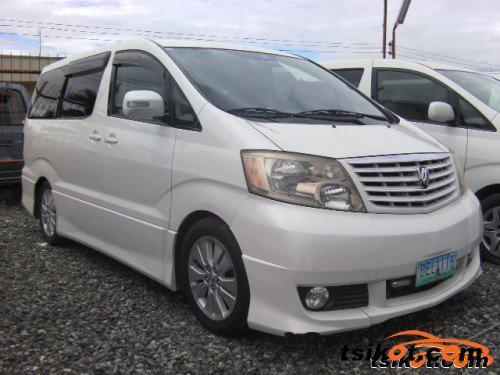 Toyota Alphard 2003 - 6