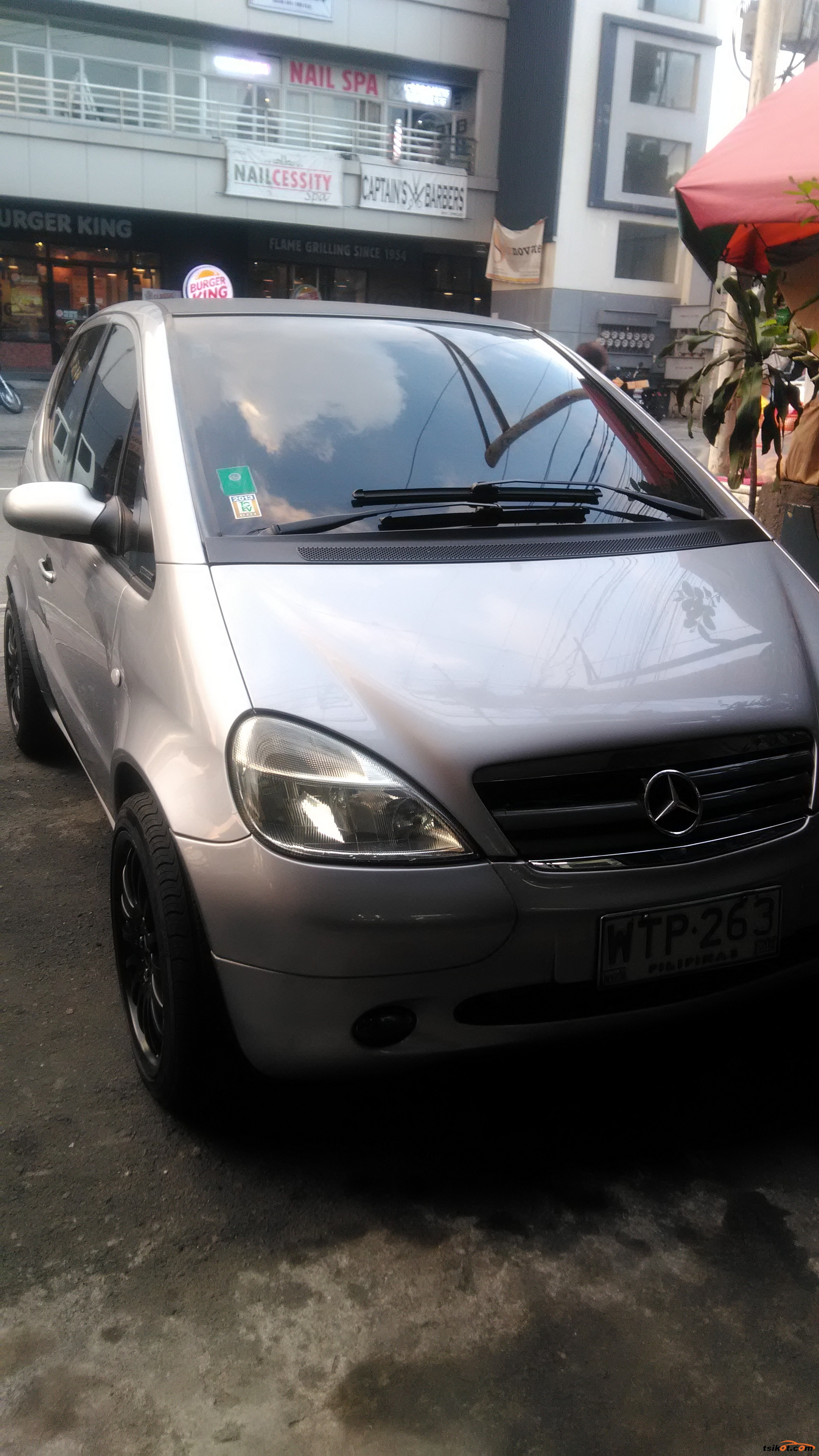 Mercedes benz a 2001 car for sale metro manila for Mercedes benz oil change price