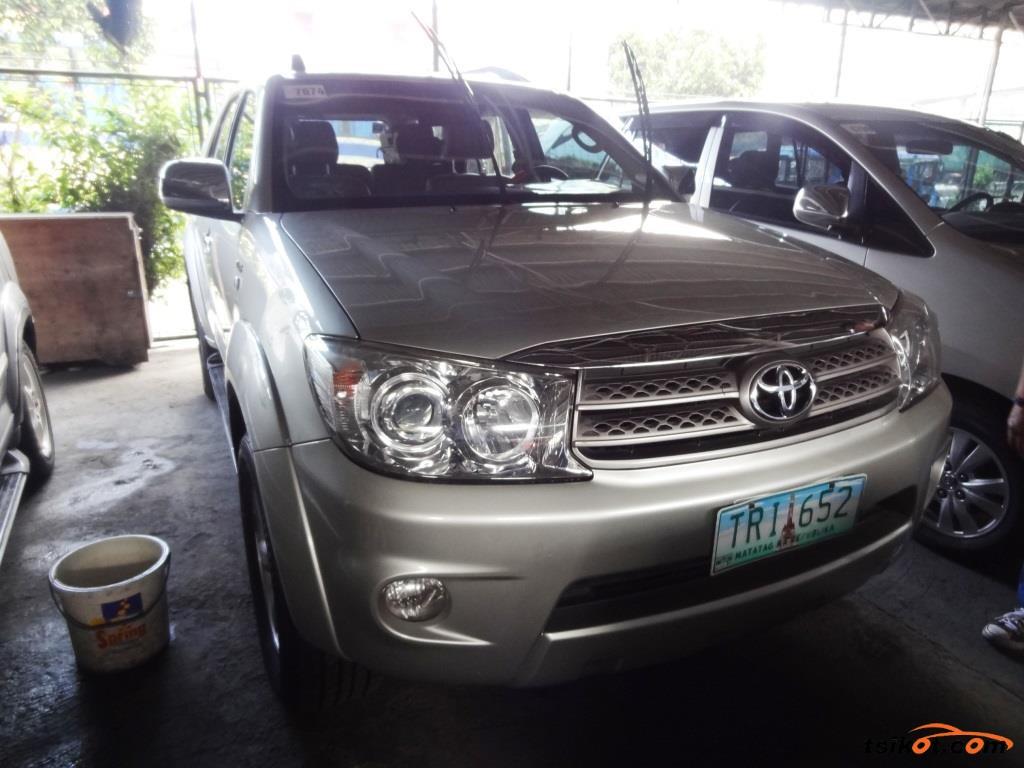 Toyota Fortuner 2011 Car For Sale Metro Manila Philippines