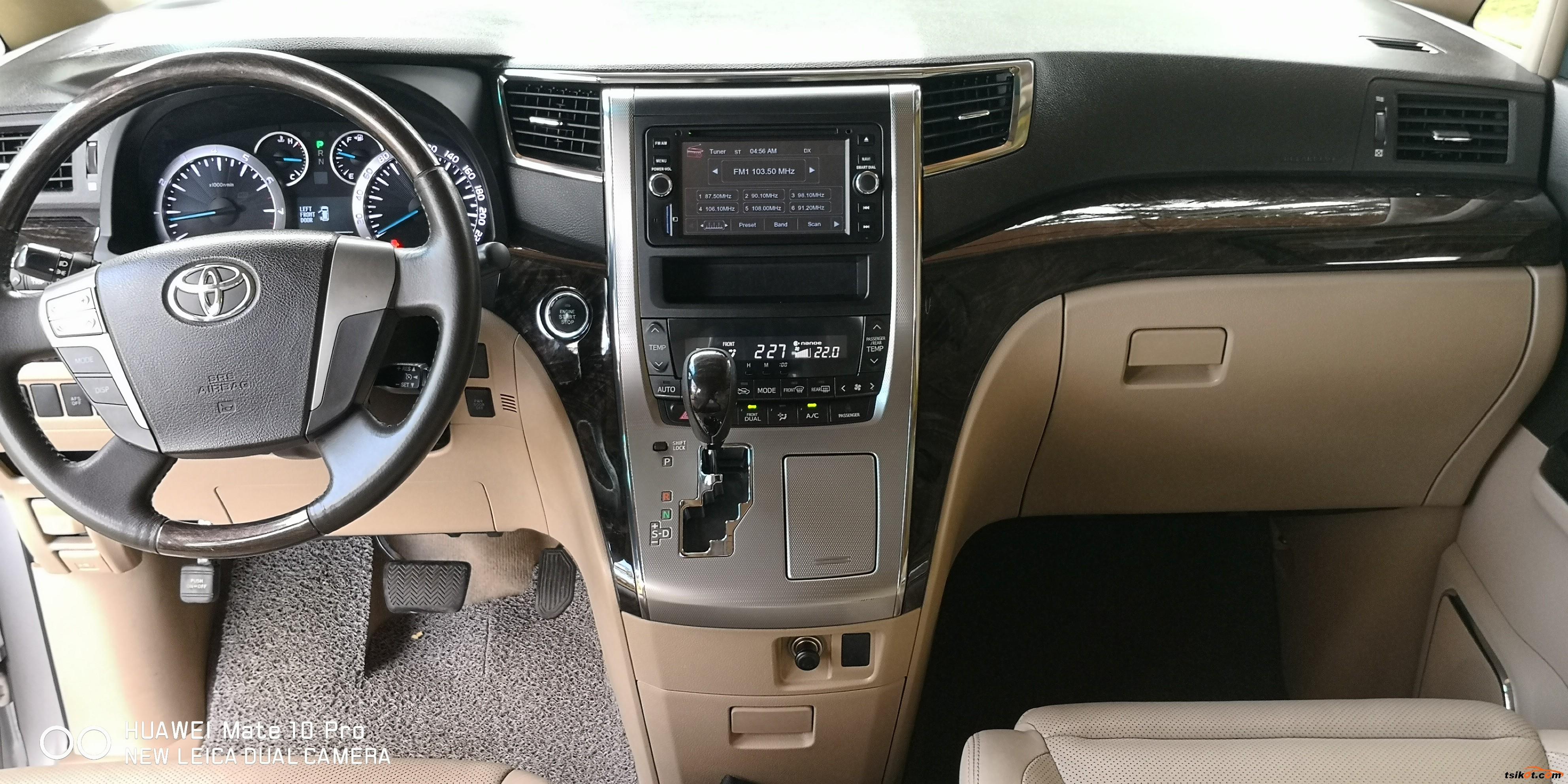 Toyota Alphard 2013 - 8