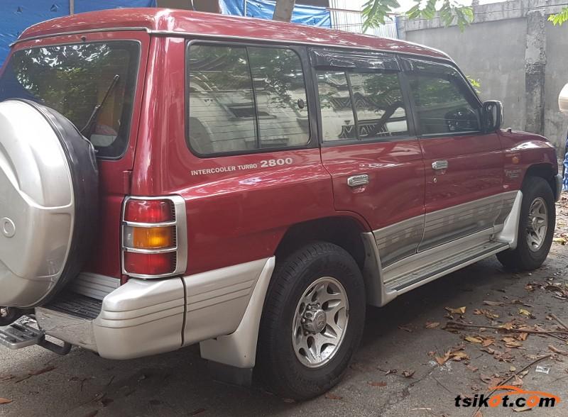 Mitsubishi Pajero 2003 - 4