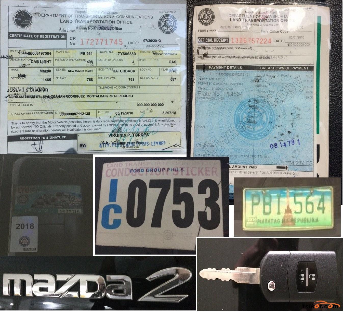 Mazda 2 2010 - 8