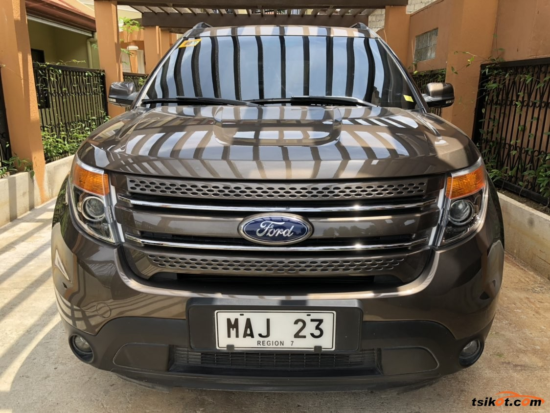 Ford Explorer 2015 - 8