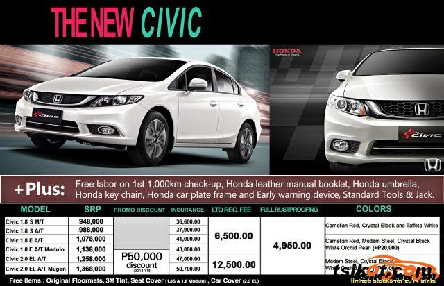 Honda Civic 2014 - 6