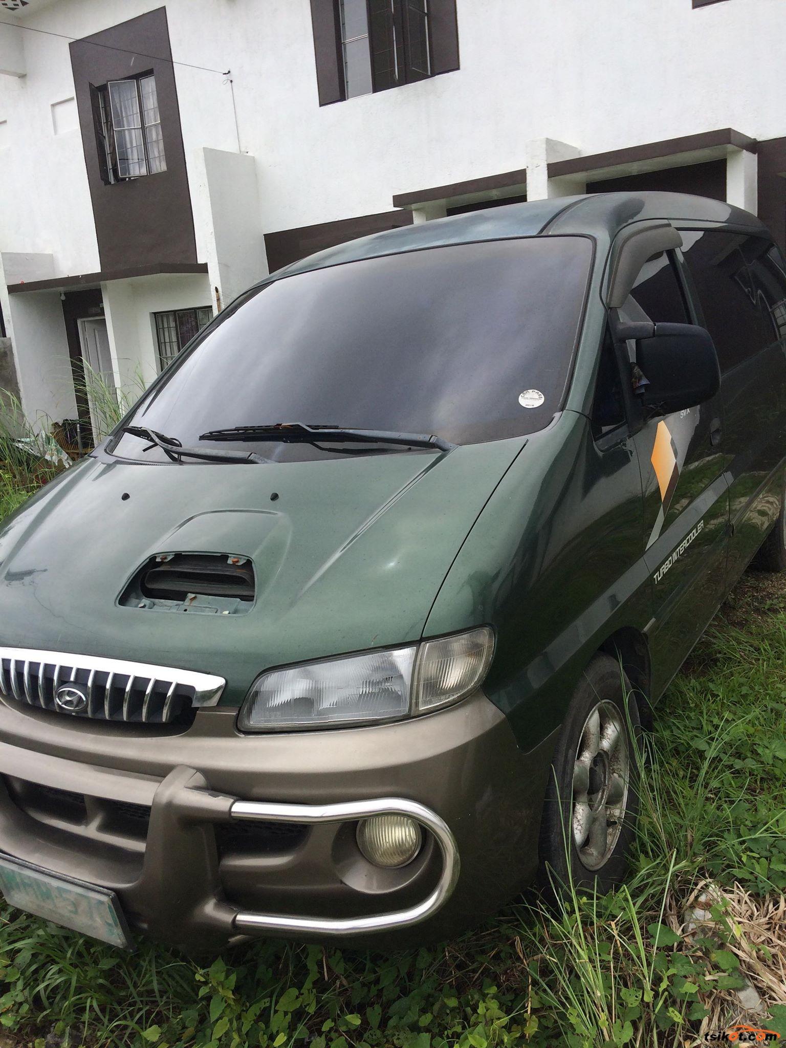 Hyundai Starex 1999 - 8