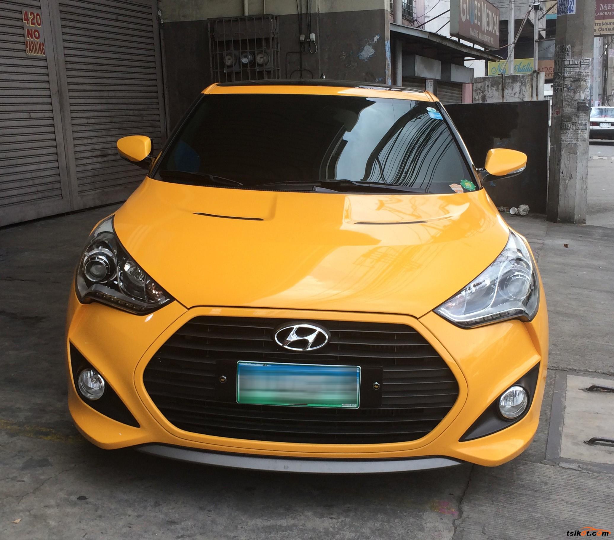 Hyundai Veloster 2013 - 2