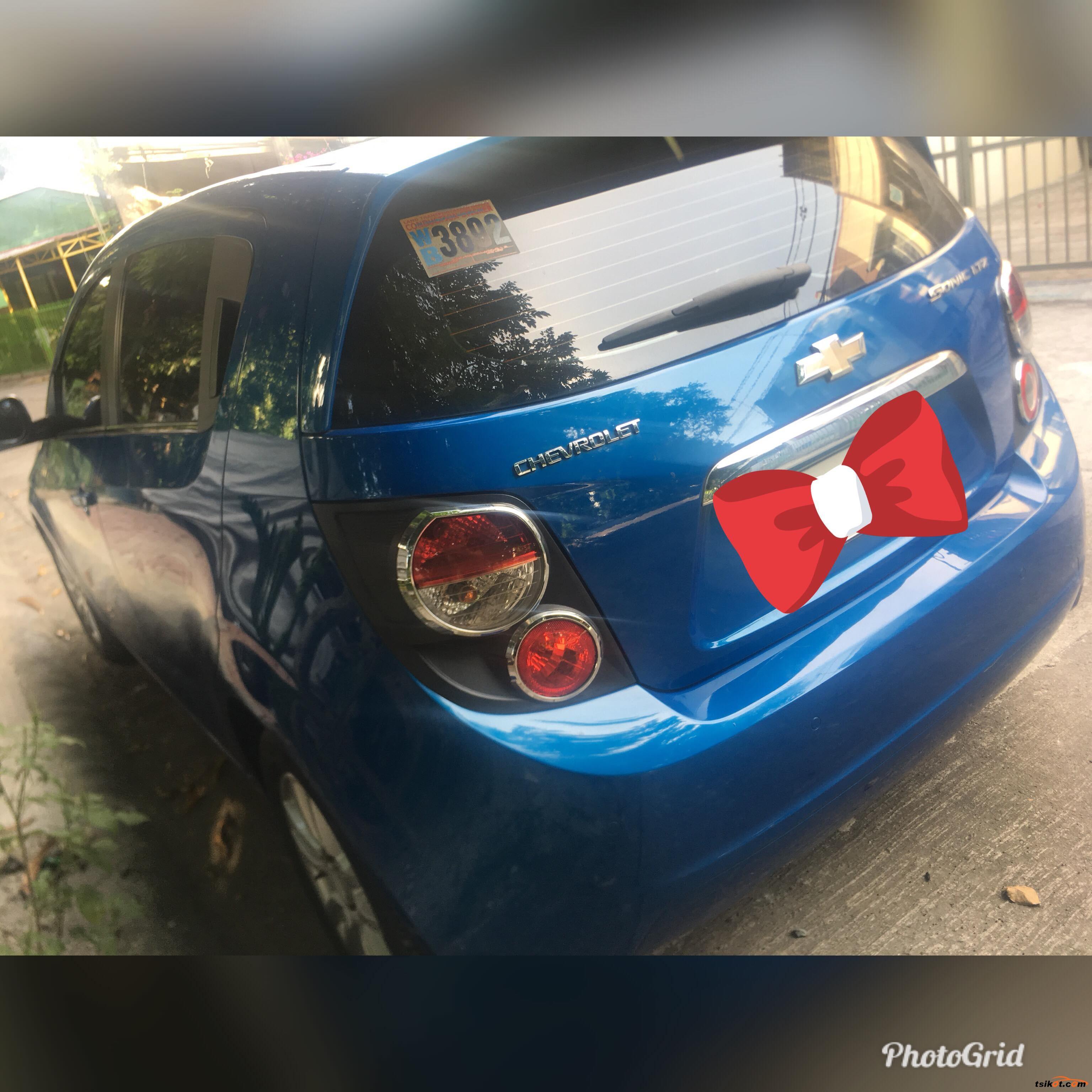 Chevrolet Sonic 2014 - 4