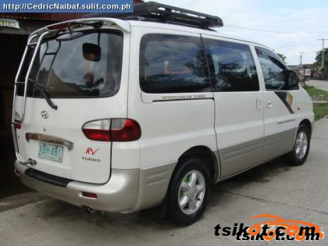 Hyundai Starex 2002 - 2