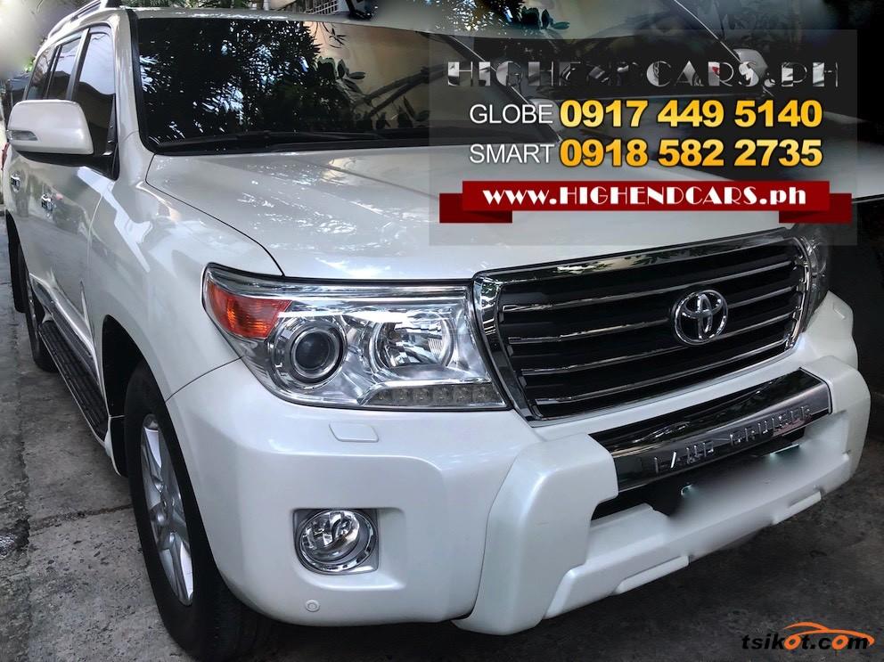 Toyota Land Cruiser 2013 - 2