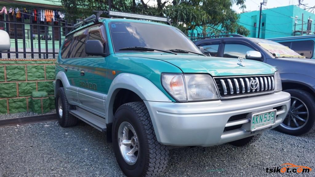 Toyota Land Cruiser 1997 - 3