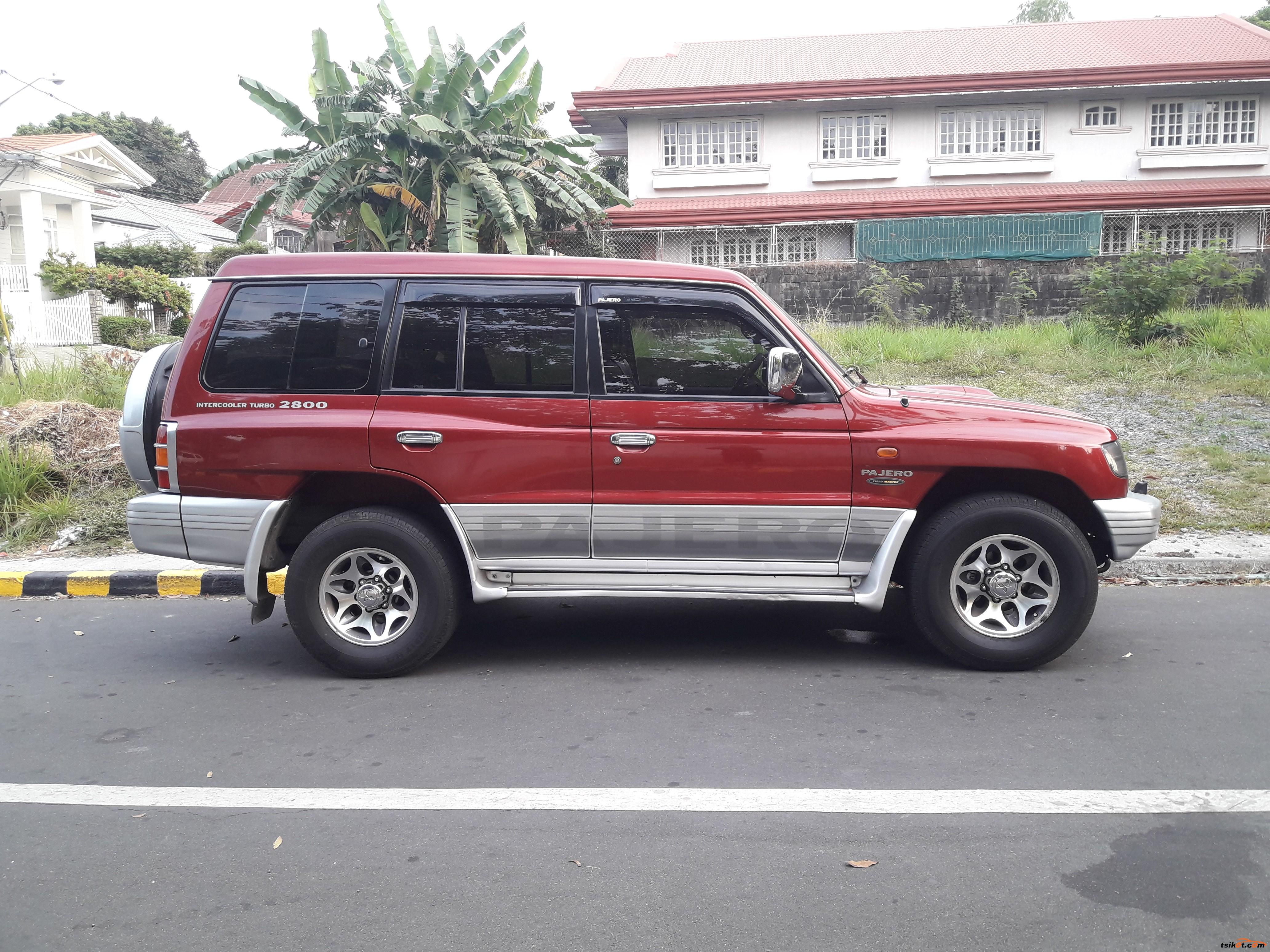 Mitsubishi Pajero 2002 - 5