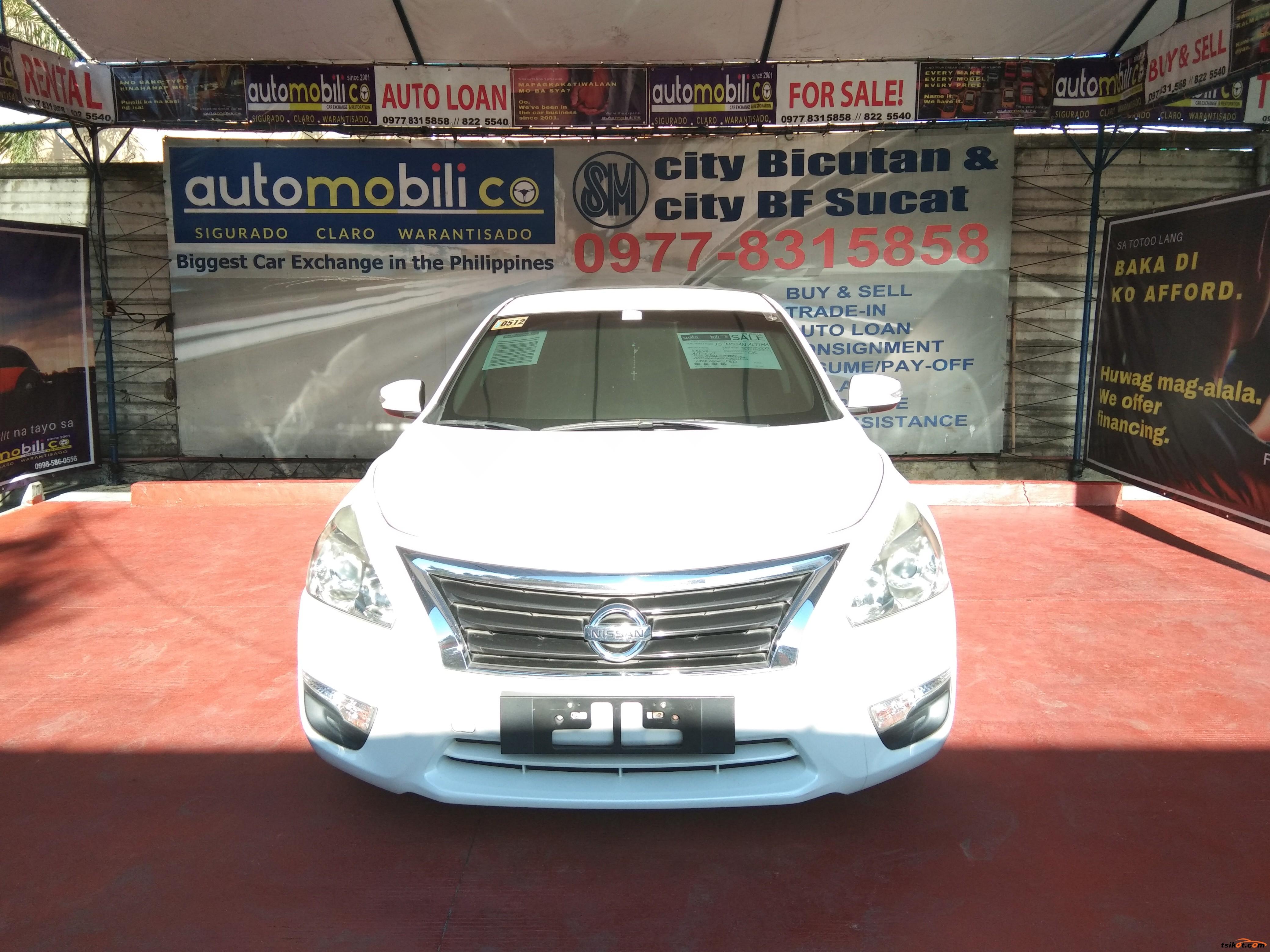 Nissan Altima 2015 - 1