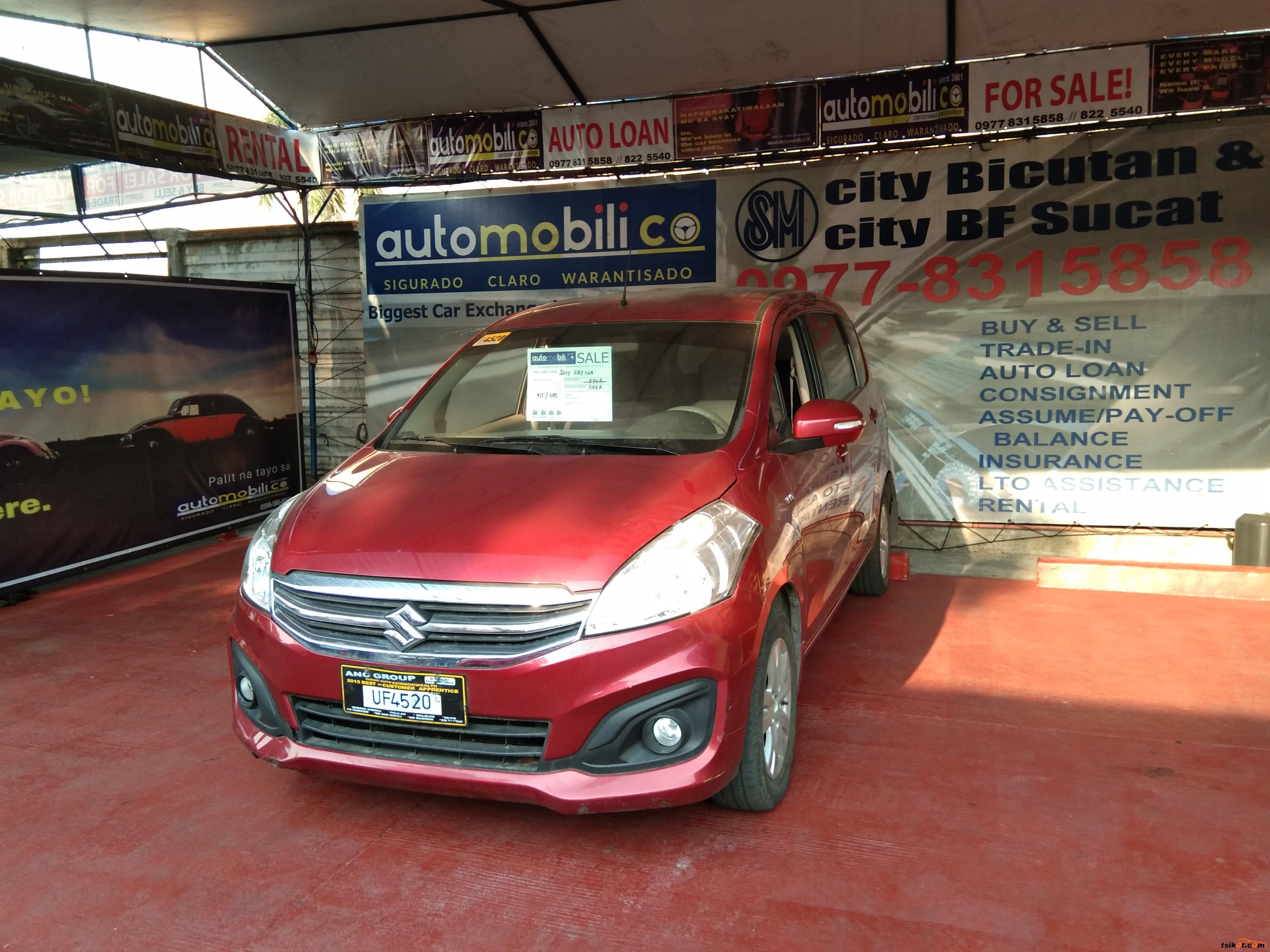 Suzuki Ertiga 2017 - 2