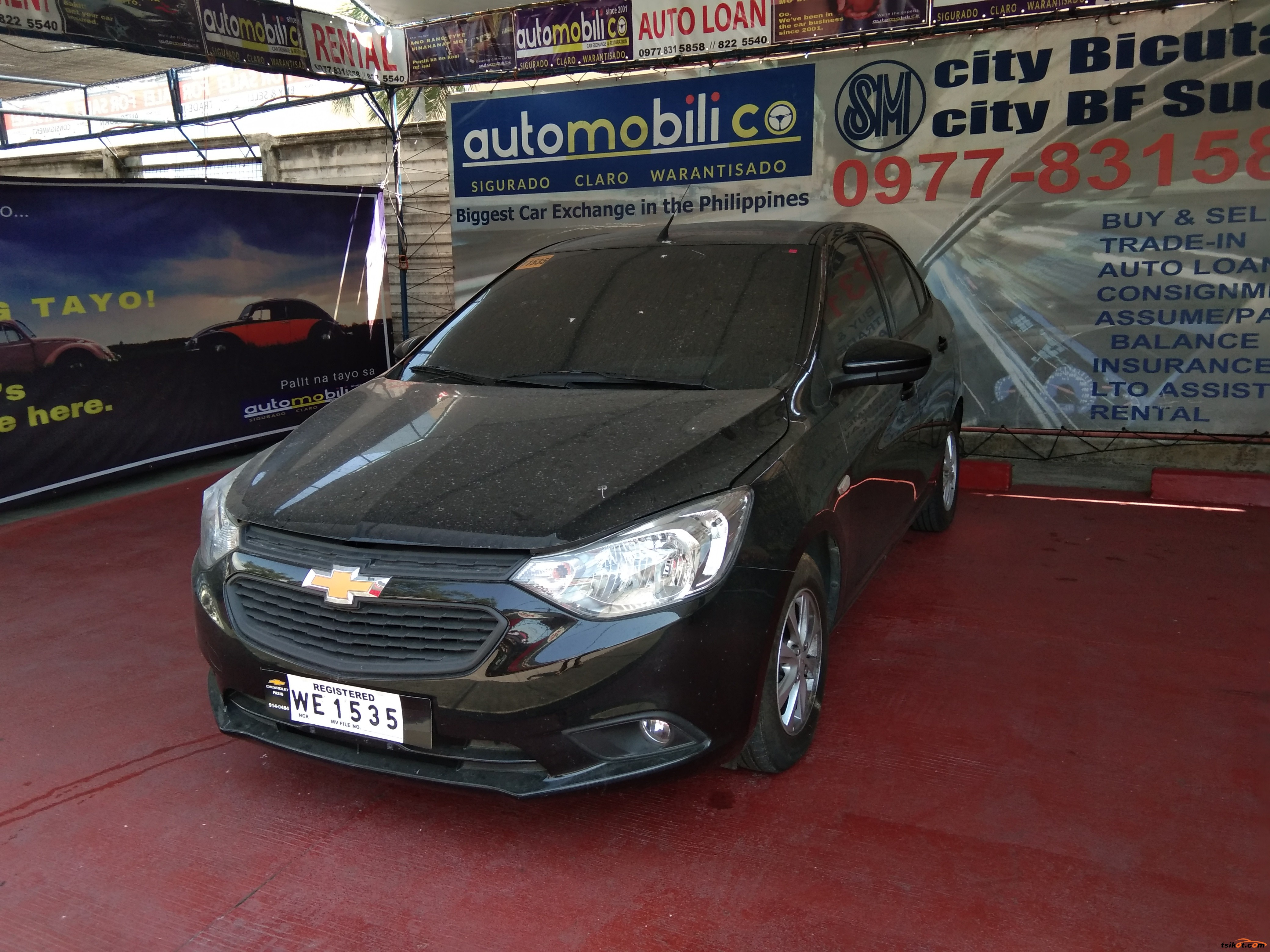 Chevrolet Sail 2018 - 2
