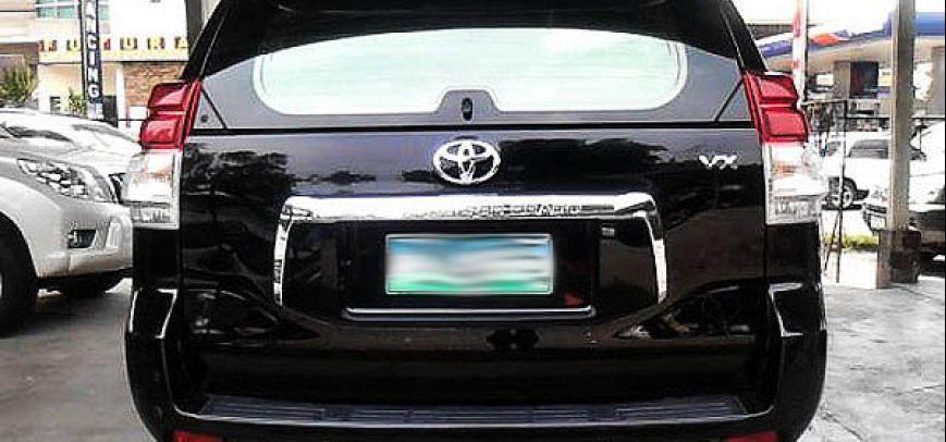 Toyota Land Cruiser 2011 - 2