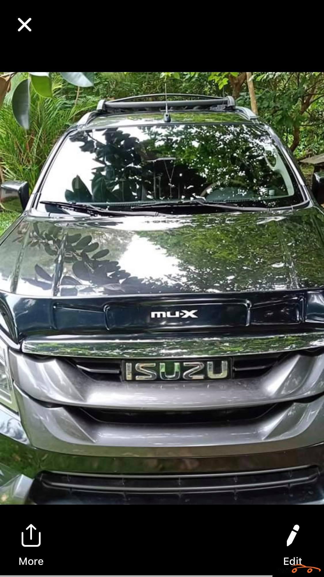Isuzu Mu-X 2016 - 2
