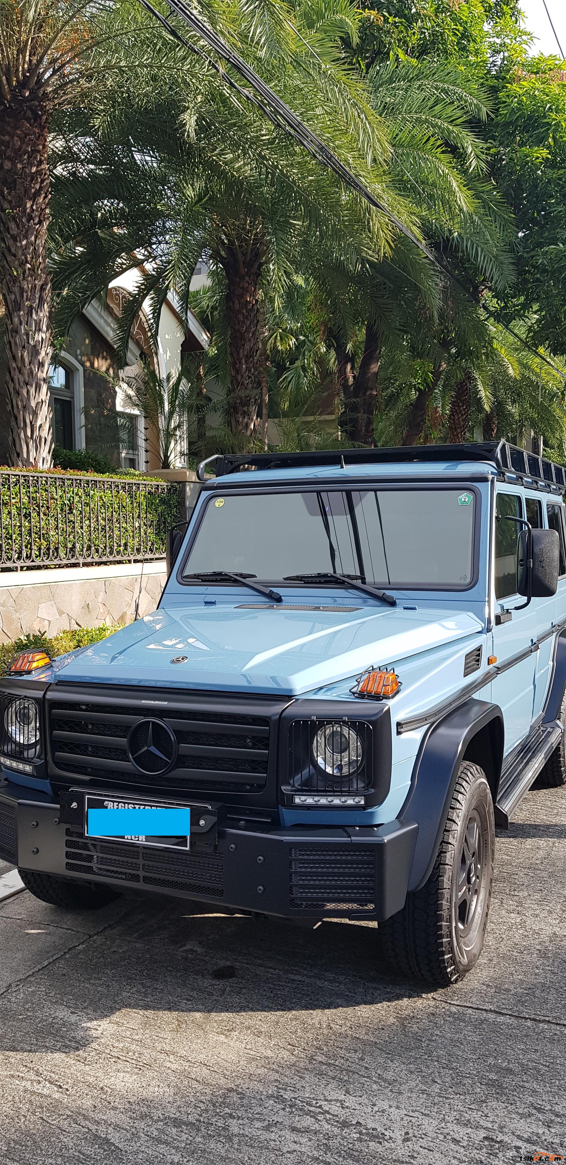 Mercedes-Benz G-Class 2015 - 1