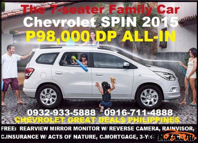 Chevrolet Spin 2015 Car For Sale Metro Manila