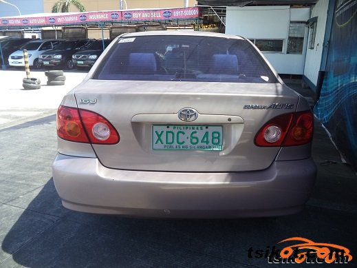 Toyota Corolla 2001 - 6