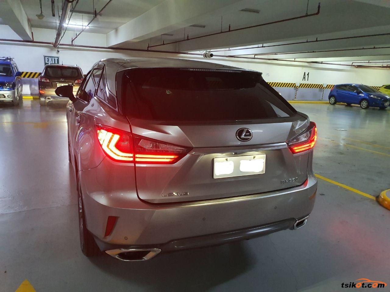 Lexus Rx 2017 - 2