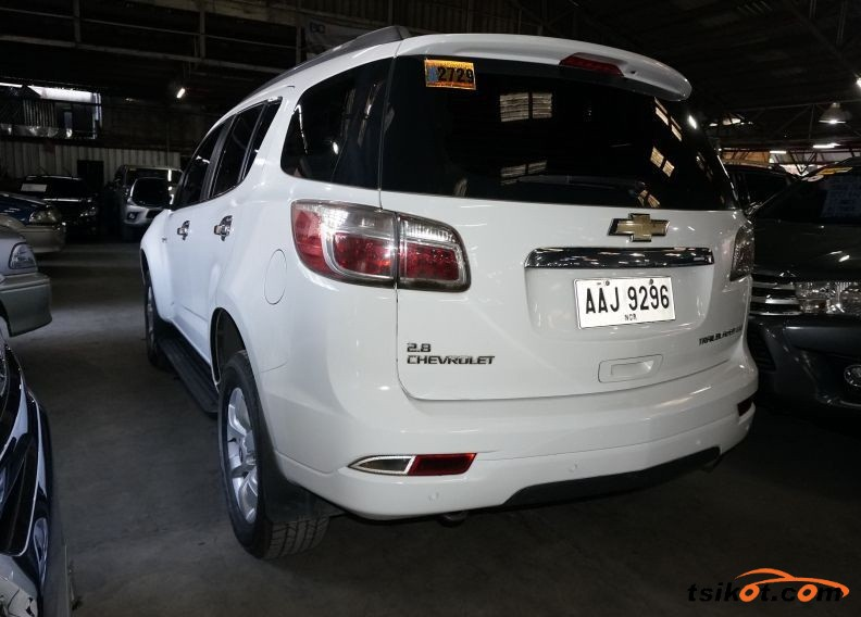 Chevrolet Trailblazer 2014 - 2