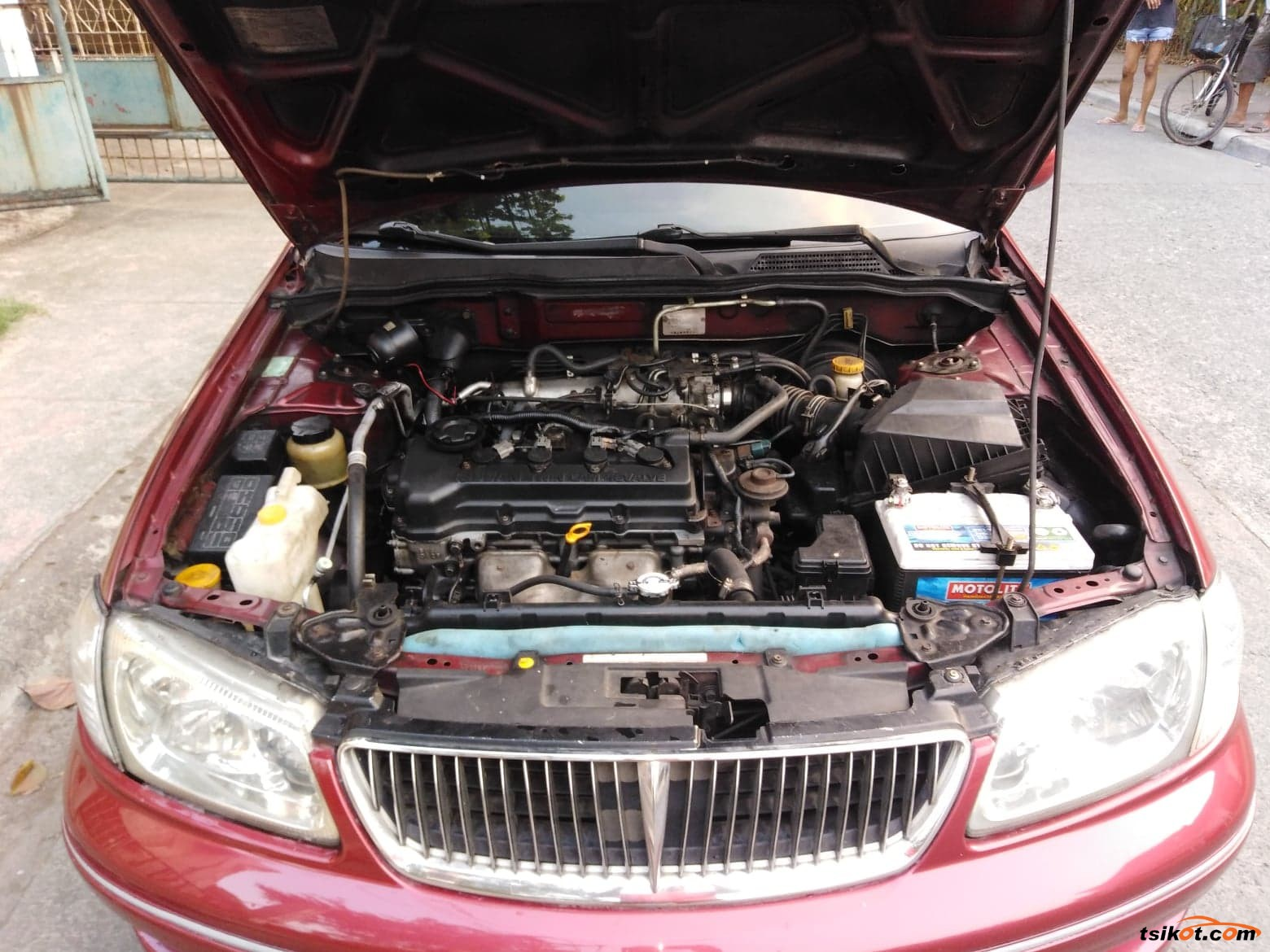 Nissan Sentra 2001 - 7