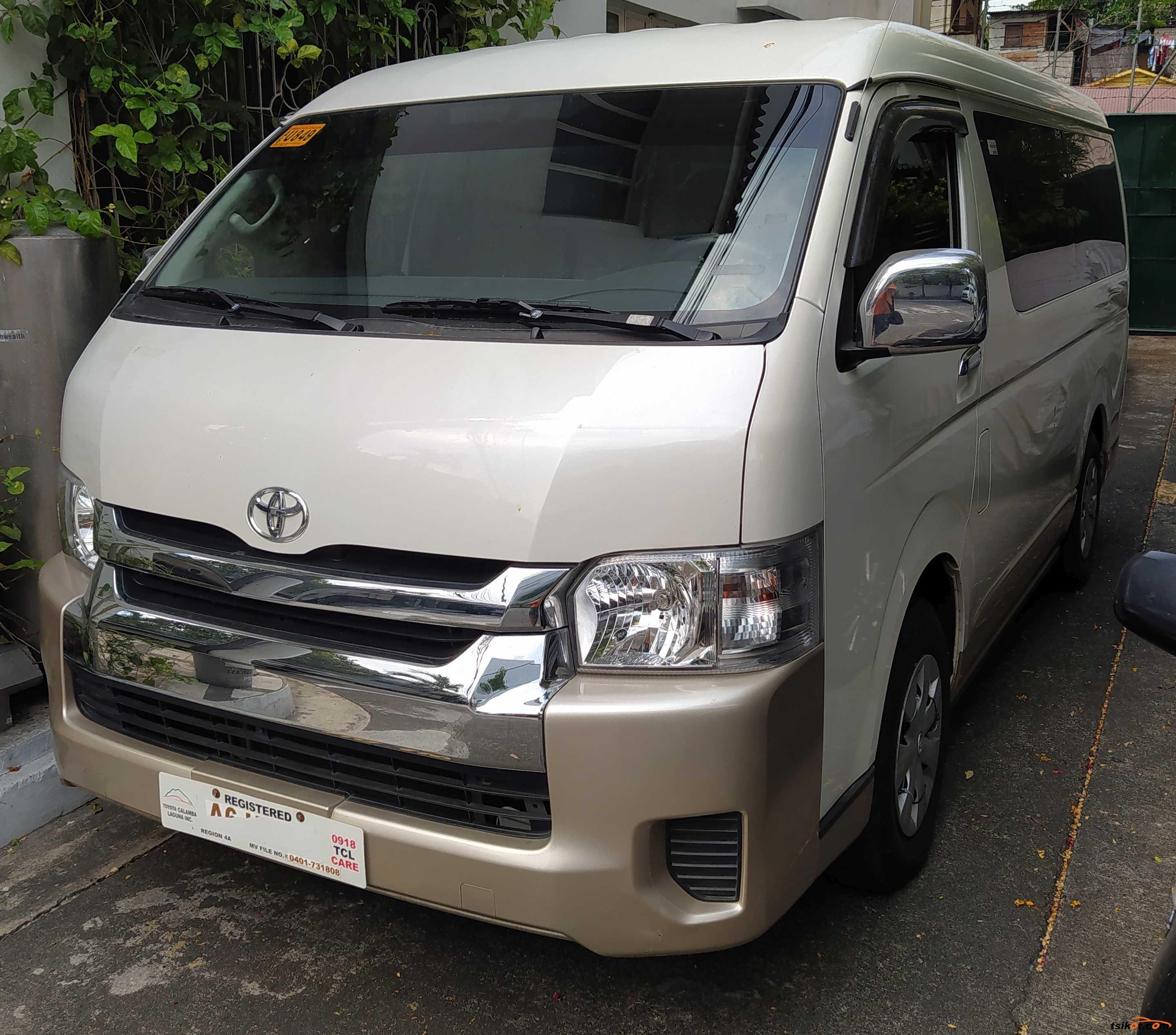 Toyota Hiace 2018 - 1