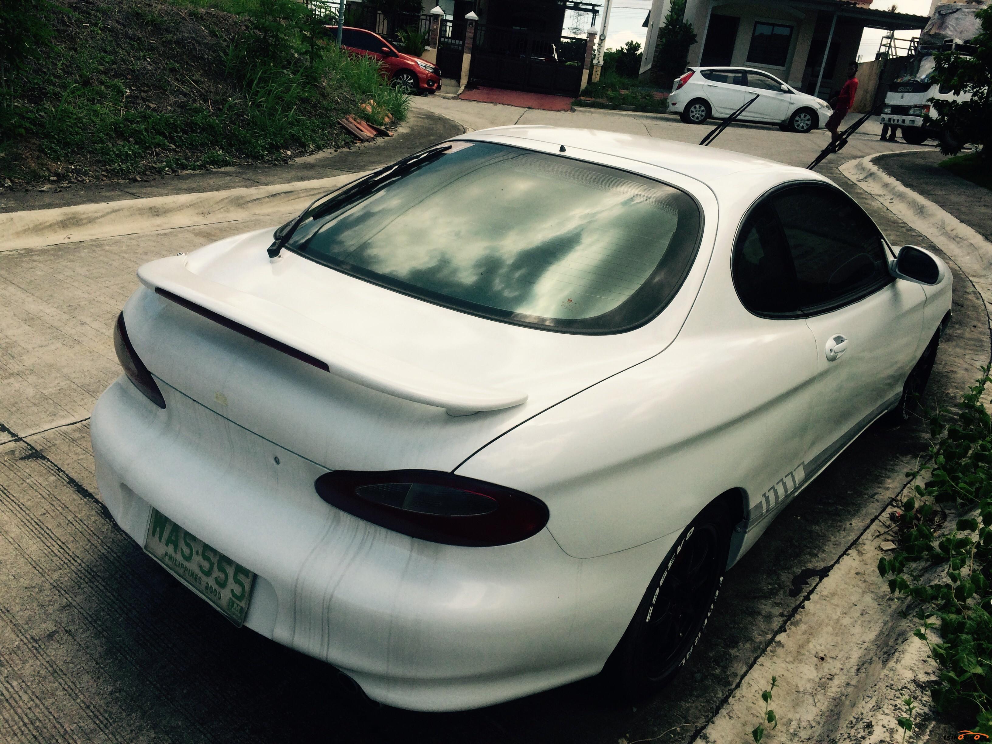 Hyundai Tiburon 1998 - 1