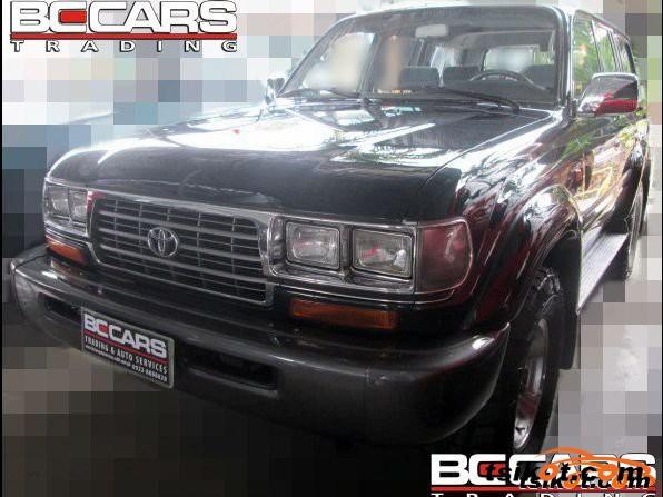 Toyota Land Cruiser 1996 - 4