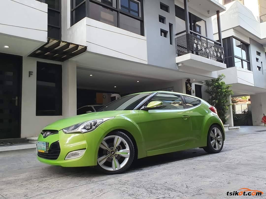 Hyundai Veloster 2012 - 4