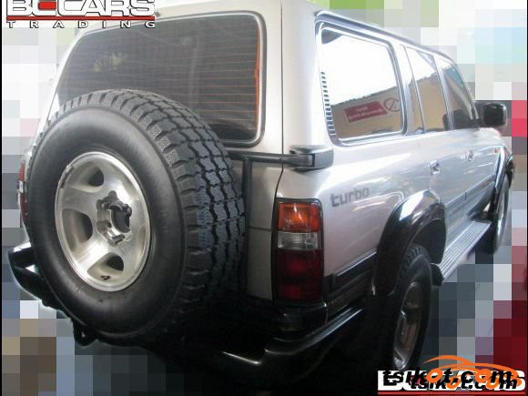 Toyota Land Cruiser 1996 - 4