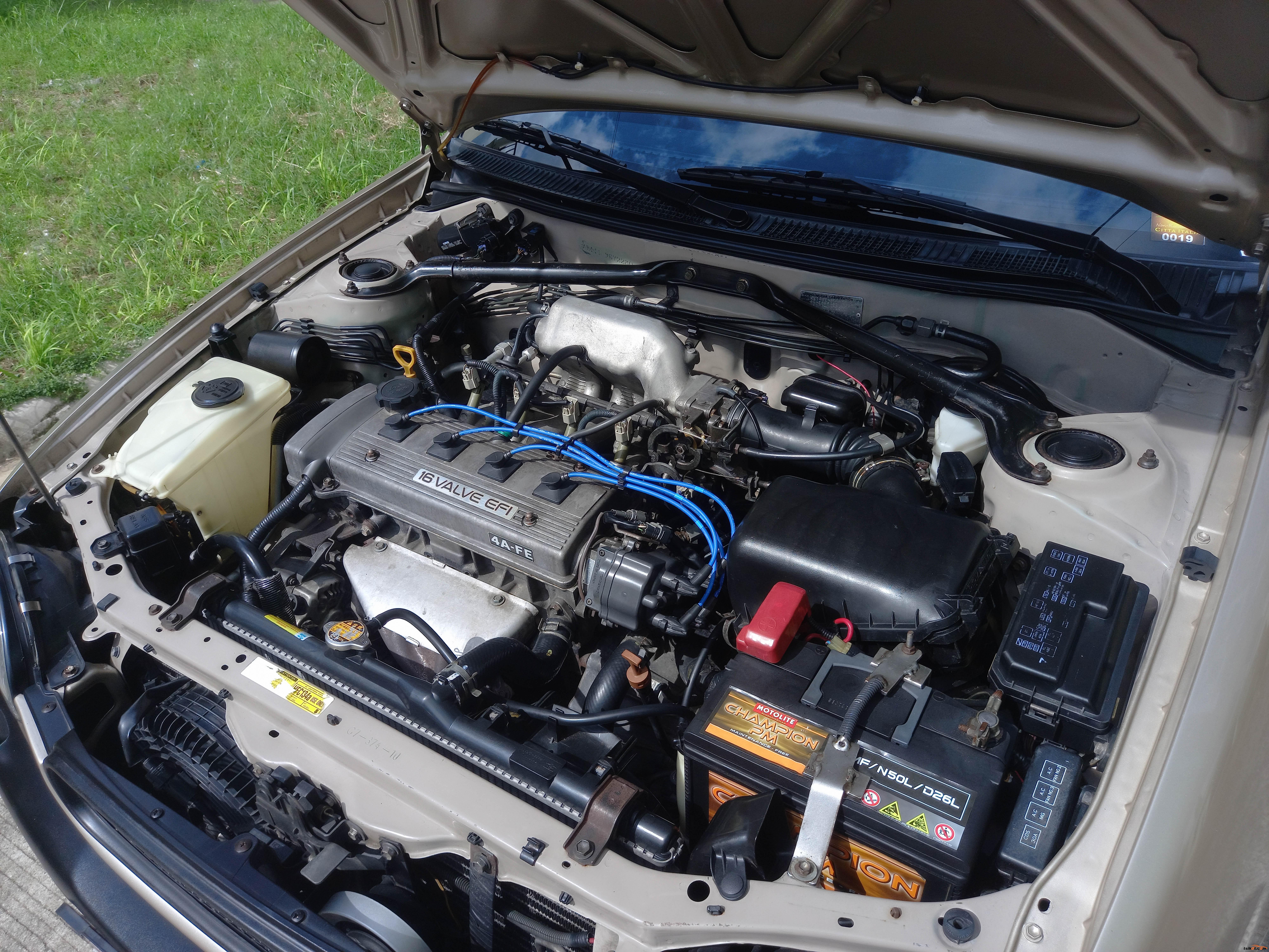 Toyota Corolla 2001 - 8