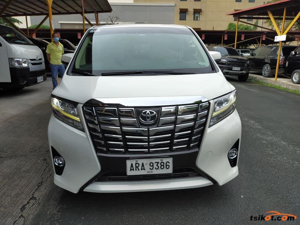 Toyota Alphard 2015 - 2