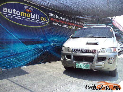 Hyundai Starex 2002 - 1