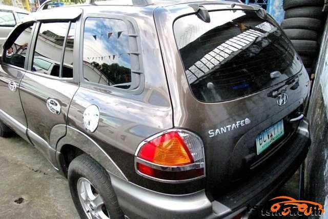 Hyundai Santa Fe 2000 - 3