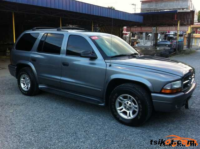dodge durango 2003 car for sale central visayas. Black Bedroom Furniture Sets. Home Design Ideas