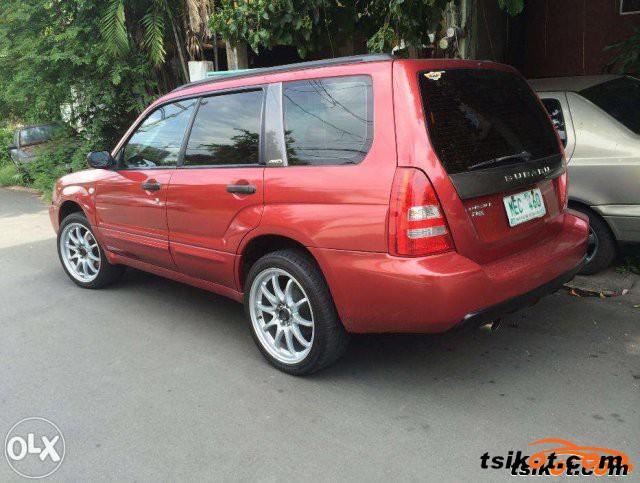 Subaru Forester 2003   1