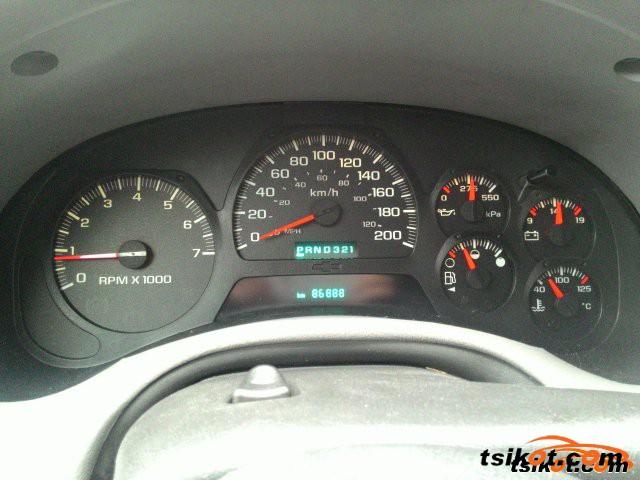 Chevrolet Trailblazer 2005 - 2