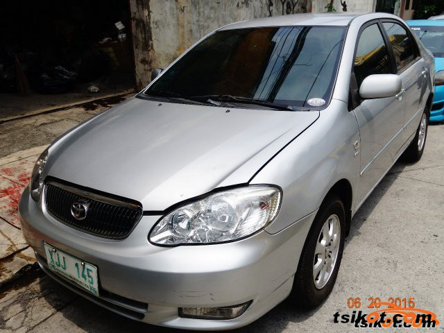 Toyota Corolla 2003 - 6